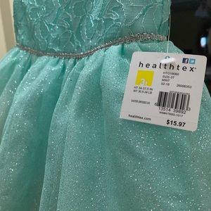 3T blue sparkle dress